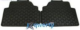 Коврики оригинальные для BMW 3 (E92) задние резиновые черные (51470427561)