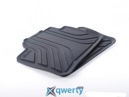 Коврики оригинальные для BMW 3 (F30) задние резиновые (черные) (51 47 2 219 802)