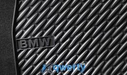 Коврики оригинальные для BMW 5 (F10, F11) задние резиновые (51 47 2 153 887)