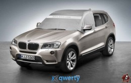 Защитный чехол на стекла BMW Tailored Outdoor Car Windscreen/Window Cover (82150418577)