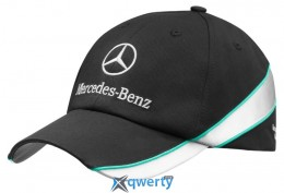 Бейсболка Mercedes-Benz Baseball Cap Motorsport Highlight Black (B67995144)