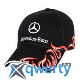 Бейсболка Mercedes-Benz Baseball Cap Trucker Flame 2013 black (B67870181)