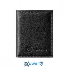 Кожаный кошелек Mercedes-Benz Leather Mini Wallet Black (B66951352)