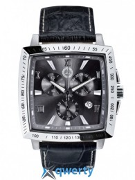 Мужской хронограф Mercedes-Benz Carre Chronograph Watch Black (B66043422)