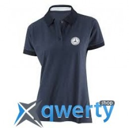 Женская футболка-поло Mercedes-Benz Women's Polo Shirt Classic (размер XS) (B66957642)