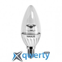 Maxus LED-280 C37 CL-C 4W 4100K 220V E14 AP (1-LED-280)