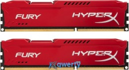 16GB DDR3 (2x8GB) 1866 MHz Kingston HyperX Fury Red (HX318C10FRK2/16)