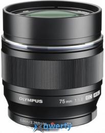 Olympus ET-M7518 75 мм 1:1.8 BLACK Официальная гарантия!