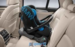 Детское автокресло BMW Baby Seat 0+ ISOFIX Black/Blue 2013 (82222348230)