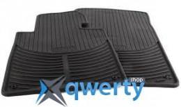 Коврики оригинальные для BMW X3 (E83) передние резиновые (51 47 0 428 949)