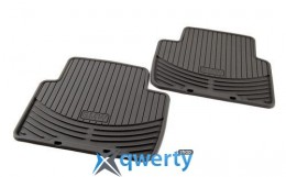 Коврики оригинальные для BMW X3 (E83) задние резиновые черные (51 47 0 428 952)