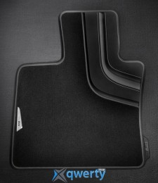 Оригинальные коврики для BMW X5 (F15) передние текстильные (черные) (51472347731)