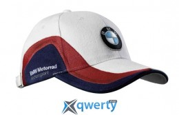 Бейсболка BMW Motorrad Cap Motorsport White/Red/Blue (76 73 8 532 566)