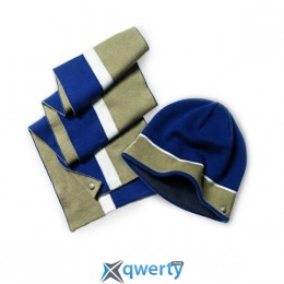 Шарф BMW Unisex Scarf Blue/Brown (80162298290)