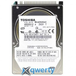 2.5' 60GB TOSHIBA (MK6050GAC)