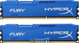 16GB DDR3 (2x8GB) 1866 MHz Kingston HyperX Fury Blue (HX318C10FK2/16) купить в Одессе