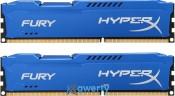 16GB DDR3 (2x8GB) 1866 MHz Kingston HyperX Fury Blue (HX318C10FK2/16)