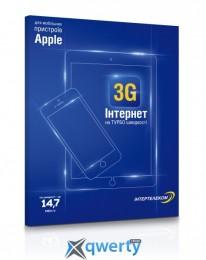 Стартовый пакет Интертелеком «3G Интернет для Apple»  Nano Sim (nano R-UIM)
