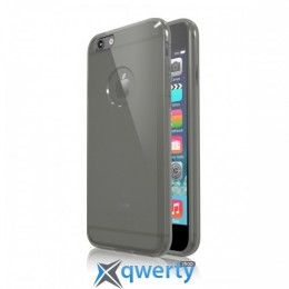 Colorant C0 Soft Clear case for Apple iPhone 6 4.7- Clear Black 7521