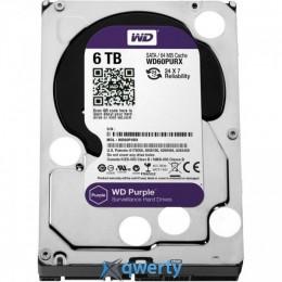 Western Digital Purple 6TB 3.5 SATA III 64MB (WD60PURX)