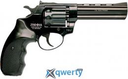 Револьвер Флобера PROFI 4.5 черный пластик