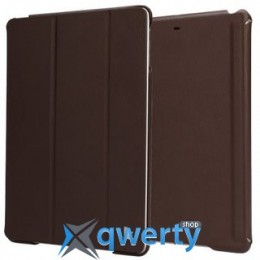 JISONCASE Executive Smart Case for iPad Air/iPad Air 2 Brown (JS-ID5-01H20*)
