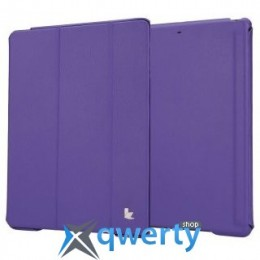 JISONCASE Executive Smart Case for iPad Air/iPad Air 2 Purple (JS-ID5-01H50*)