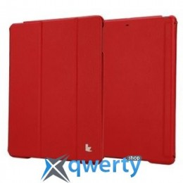 JISONCASE Executive Smart Case for iPad Air/iPad Air 2 Red (JS-ID5-01H30*)