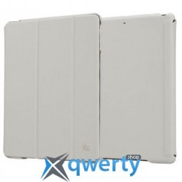 JISONCASE Executive Smart Case for iPad Air/iPad Air 2 White (JS-ID5-01H00*)