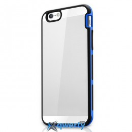 ITSKINS Venum Reloaded for iPhone 6 Black/Blue (APH6-VNRLD-BKBL)