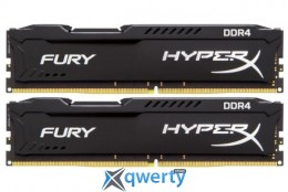Kingston HyperX Fury Black DDR4-2666 16GB PC4-21300 (2x8) (HX426C15FBK2/16)