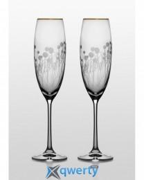 Grandioso набор бокалов для шампанского (Helena золото)