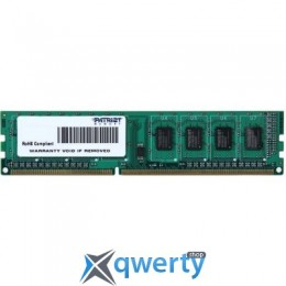 PATRIOT 4 GB DDR3 1600 MHz (PSD34G160081)