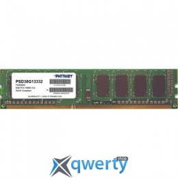 PATRIOT 8 GB DDR3 1333 MHz (PSD38G13332)