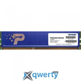 PATRIOT 8 GB DDR3 1600 MHz (PSD38G16002H)