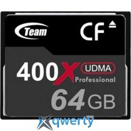 TEAM COMPACT FLASH 64GB 400X (TCF64G40001)