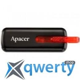 64GB AH326 Black RP USB2.0 Apacer (AP64GAH326B-1)