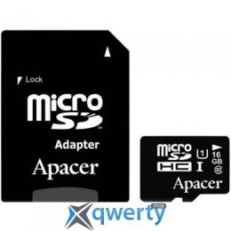 APACER 16GB MICROSDHC UHS-I CLASS10 W/ 1 ADAPTER RP (AP16GMCSH10U1-R)