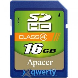 APACER 16GB SDHC CLASS 4 (AP16GSDHC4-R)