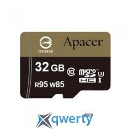 APACER 32GB MICROSDHC UHS-I (95/85) U3 CLASS10 W/0 ADAPTER RP (AP32GMCSH10U4-R)