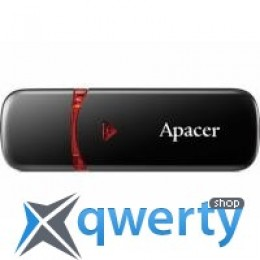 Apacer 32GB AH333 black USB 2.0 (AP32GAH333B-1)