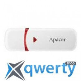 Apacer 4GB AH333 white USB 2.0 (AP4GAH333W-1)