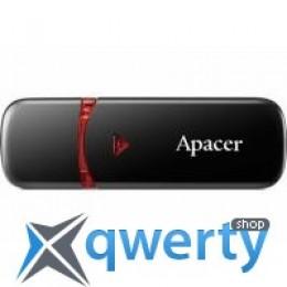 Apacer 64GB AH333 black USB 2.0 (AP64GAH333B-1) купить в Одессе