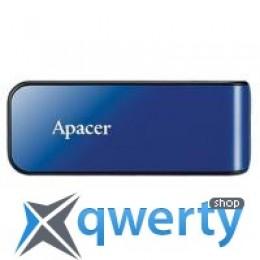 Apacer 64GB AH334 blue USB 2.0 (AP64GAH334U-1) купить в Одессе