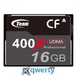 TEAM COMPACT FLASH 16GB 400X (TCF16G40001)