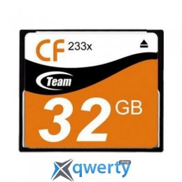 TEAM COMPACT FLASH 32GB 233X (TCF32G23301)