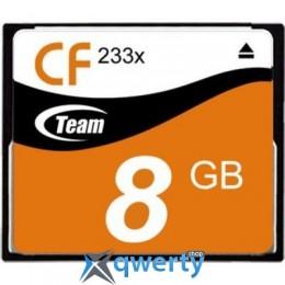 TEAM COMPACT FLASH 8GB 233X (TCF8G23301)