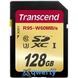 TRANSCEND 128GB SDXC CLASS 10 UHS-I U3 (TS128GSDU3)