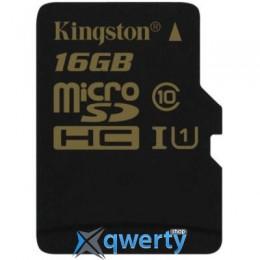 KINGSTON 16GB MICROSDHC CLASS 10 UHS-I (SDCA10/16GBSP)