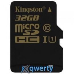 KINGSTON 32GB MICROSD CLASS 10 UHS-I (SDCA10/32GBSP)